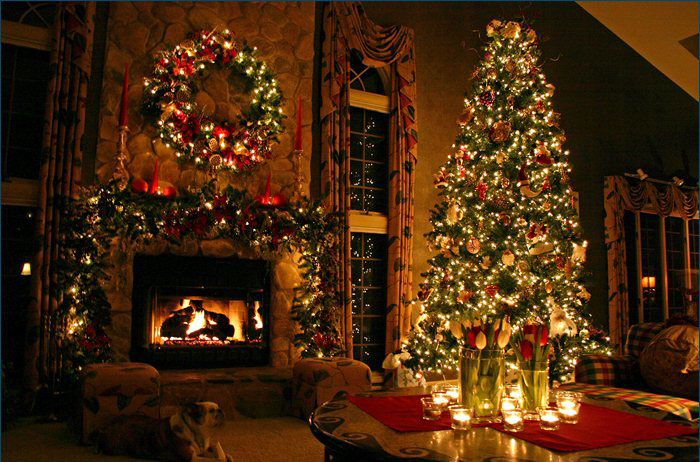 chimeneas navideñas - Buscar con Google | ARBOLES NAVIDAD | Pinterest