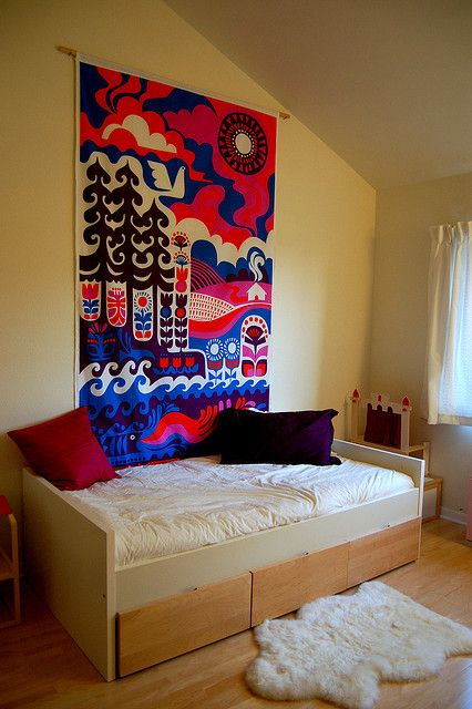 New Bed And Wall Hanging Marimekko For The House