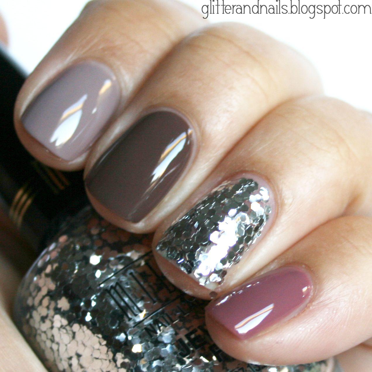 Glitter and Nails: Kiko 318, 319, 321 + Milani Silver   nails ...