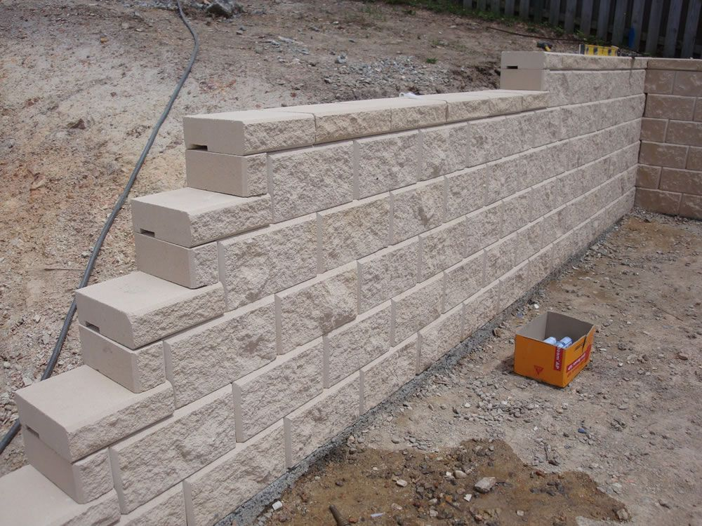 Concrete Block Retaining Wall Design 10301174 low cost concrete retaining wall design cad Retaining Wall Concrete Blocks Australian Retaining Walls Heron Concrete Block Retaining Wall Coomera