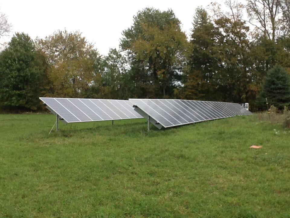 Lenox Twp Horse Farm 15 6kw Ground Mount Solar Array Low Maintenance Landscaping Solar Panels Solar Panel Battery