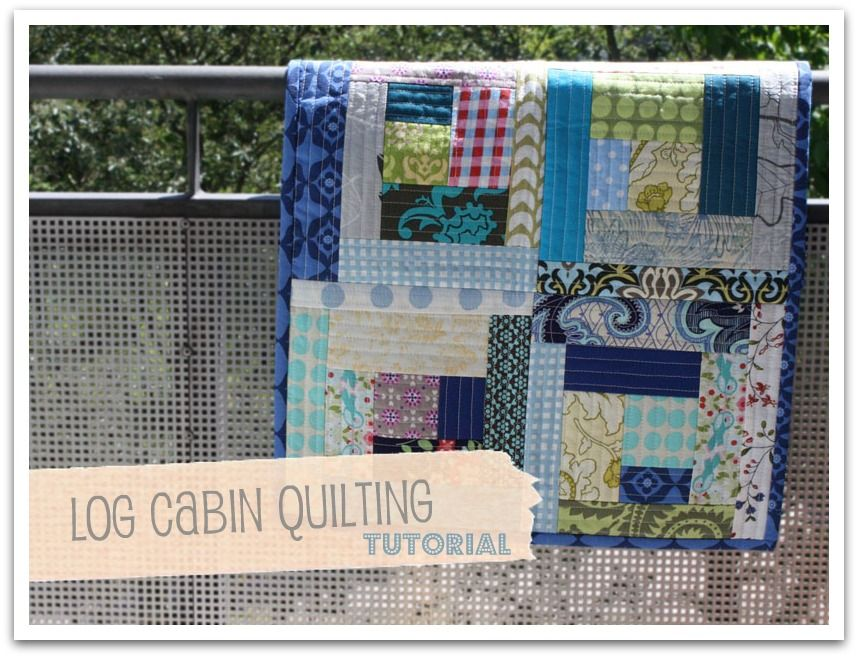 quilting as you go - tutorial