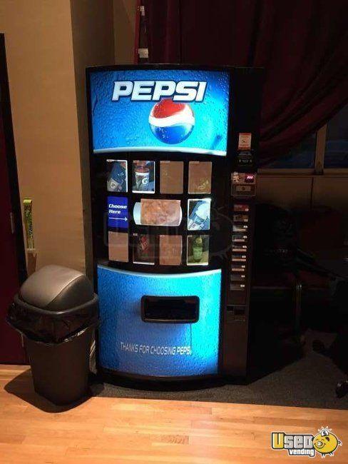 Gently Used Pepsi Soda Vending Machine For Sale In Massachusetts