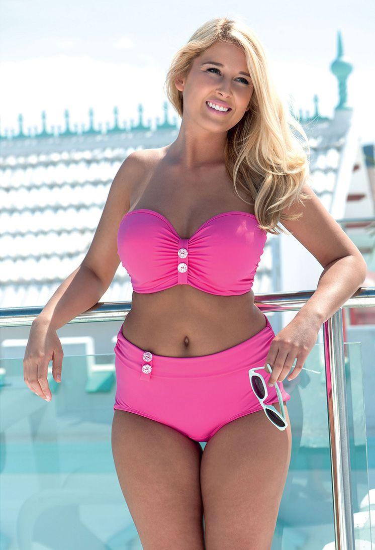 53ac07ca7cff9 Curvy Kate Luau- Pink. #swimwear #blsummersizzlers | Plus Size ...