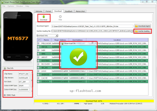 MTK SP Flash Tool Latest Version V5 1620 Free Download