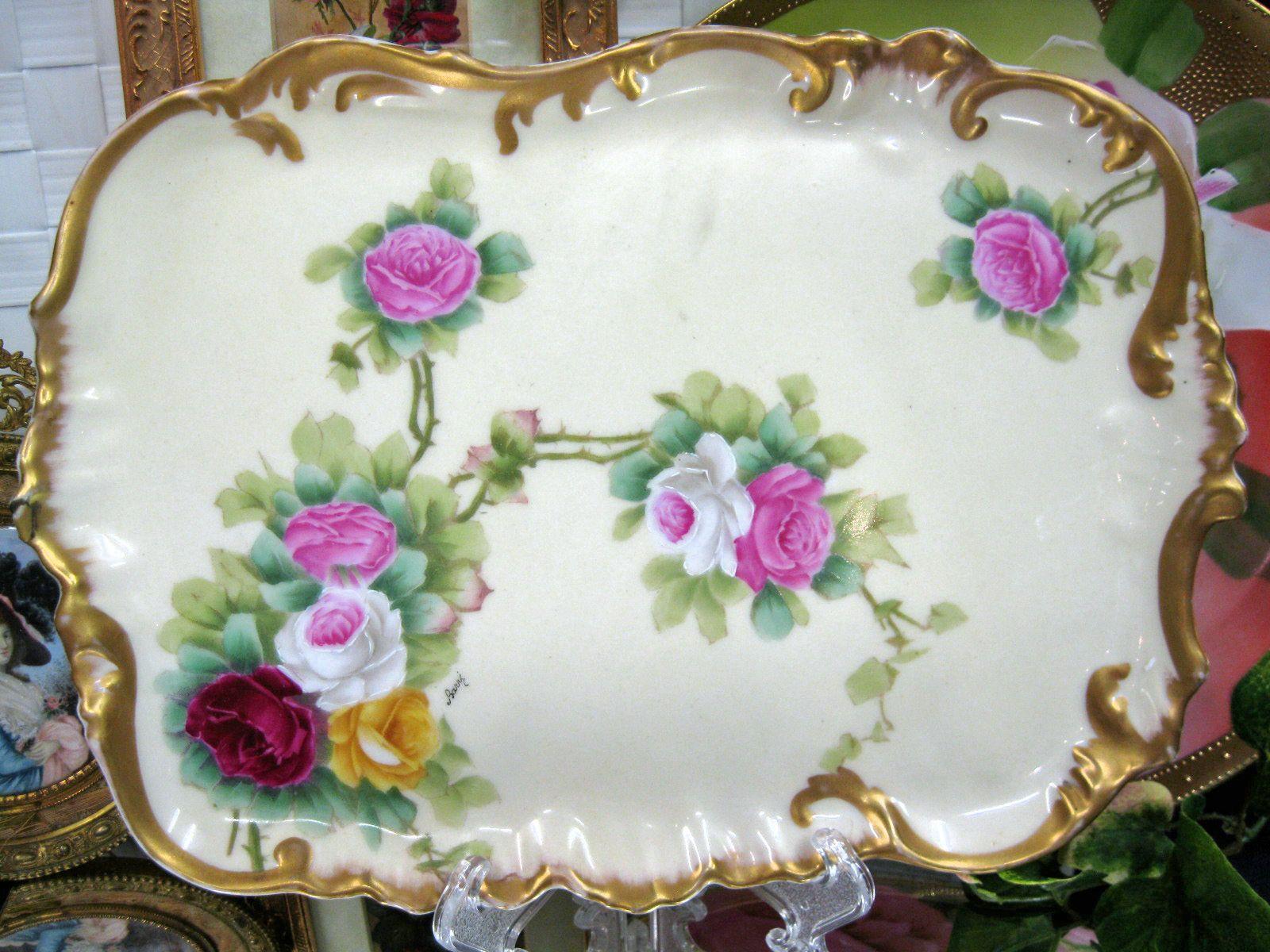 Vanity tray limoges porzellan pinterest vanity tray trays and