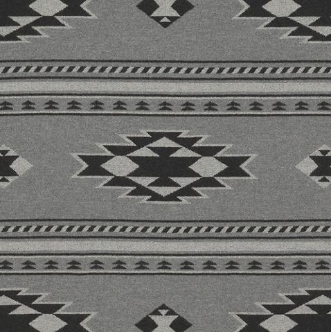 Ralph Lauren Home Black And Gray Wool Fabric In A Beacon Print Manitou In Smoke Ralph Lauren Fabric Rustic Fabric Southwestern Fabric