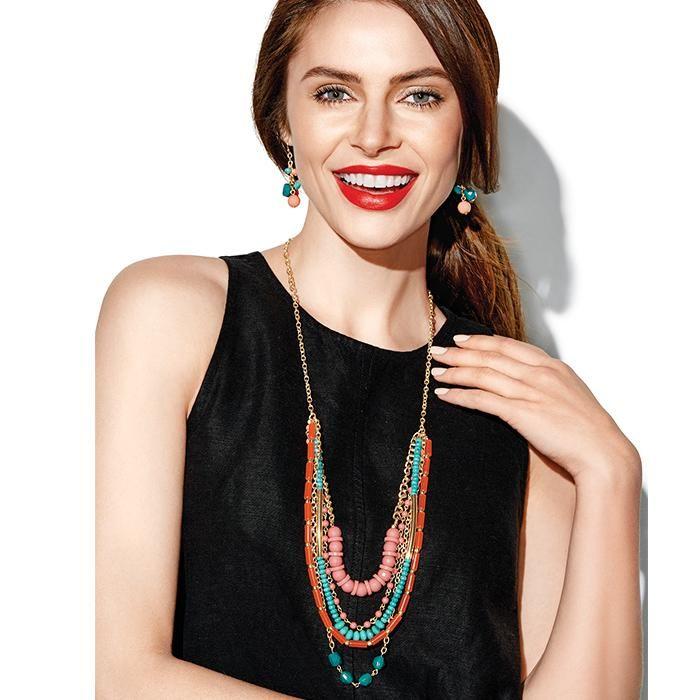 Exotic Paradise Long Necklace | Avon