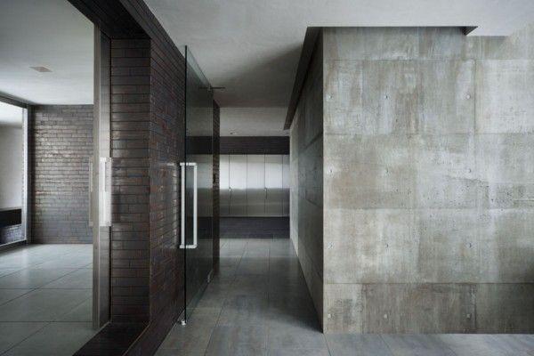 paredes con acabado de concreto - Google Search Design Center - paredes de cemento