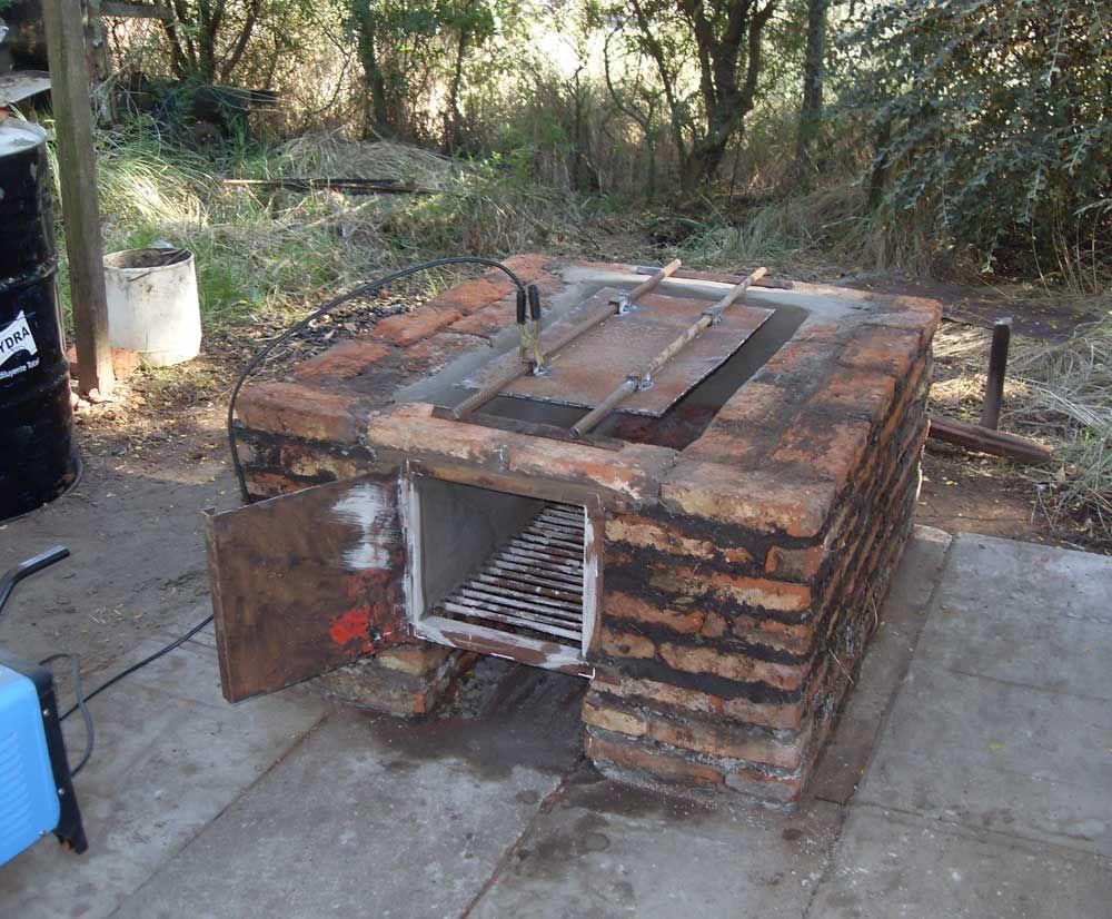 Hornos de tacho horno de barro pinterest horno - Hornos rusticos de lena ...