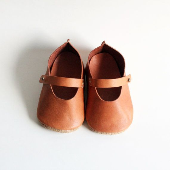 Handmade Leather Baby Shoes B by