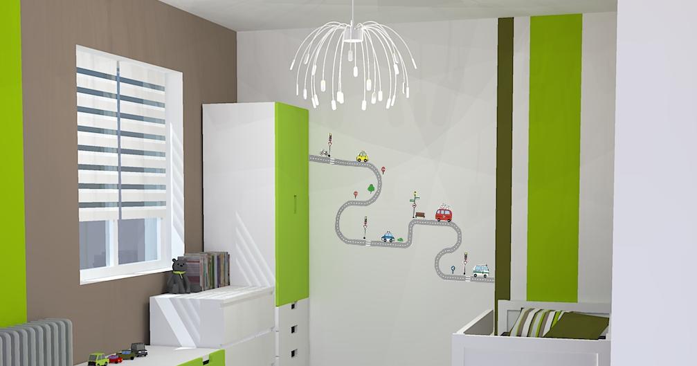 Mon architecte en ligne: Chambre garçon - Flashy , thème \