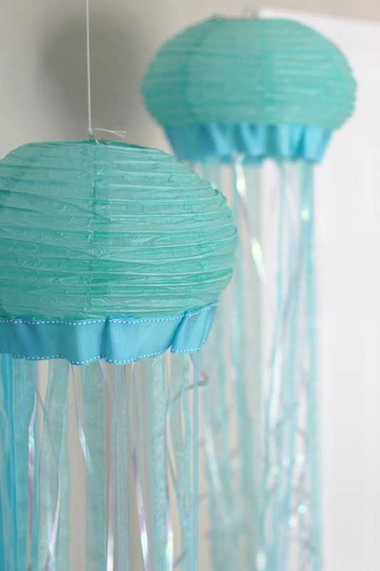 Paper Lantern Jellyfish Captivating Diy Paper Lantern Jellyfish  Pinterest  Paper Lanterns Decoration Decorating Inspiration