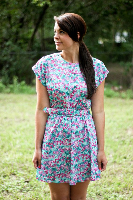 Made from an old thrifted dress. Someday, I want to do this.