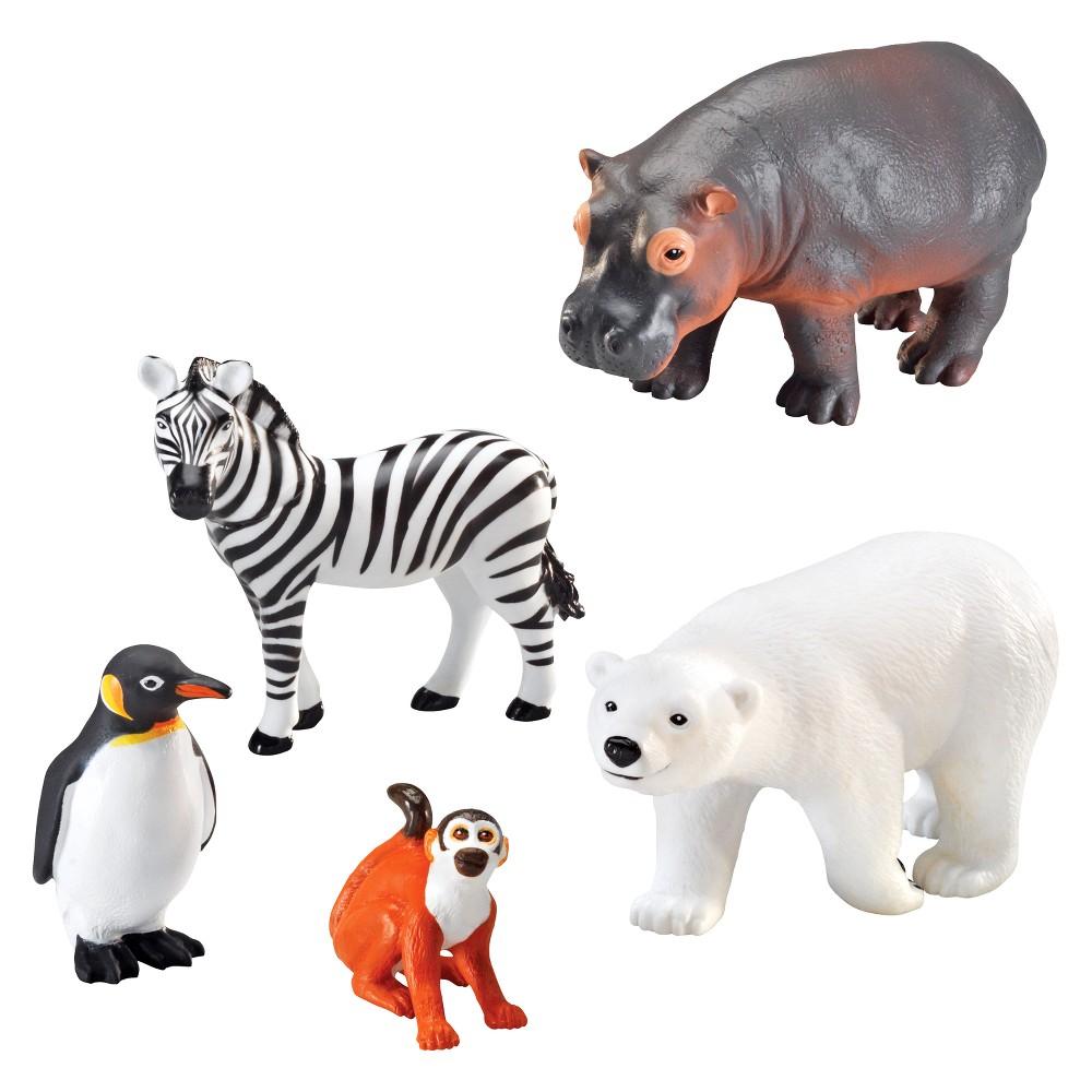Learning Resources Jumbo Zoo Animals Zoo Animal Activities Zoo