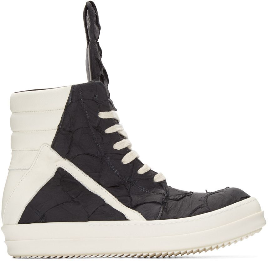 Mens Geobasket High-Top Sneakers Rick Owens JGJ0lEZRb