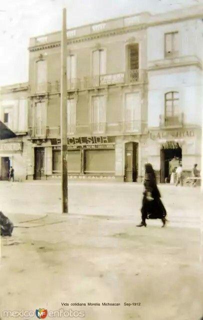 Morelia Michoacán (1912).