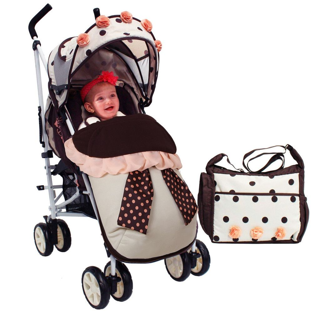 Isafe Boys Baby Toddler Stroller Buggy Pushchair Includes Raincover /& Footmuff