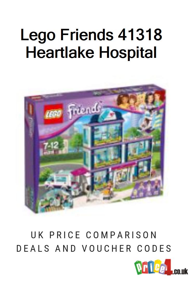 Lego Friends 41318 Heartlake Hospital Uk Prices Lego Uk 41318