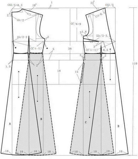 Pin de Silvia Poblete en Patrones de costura | Pinterest | Patrones ...