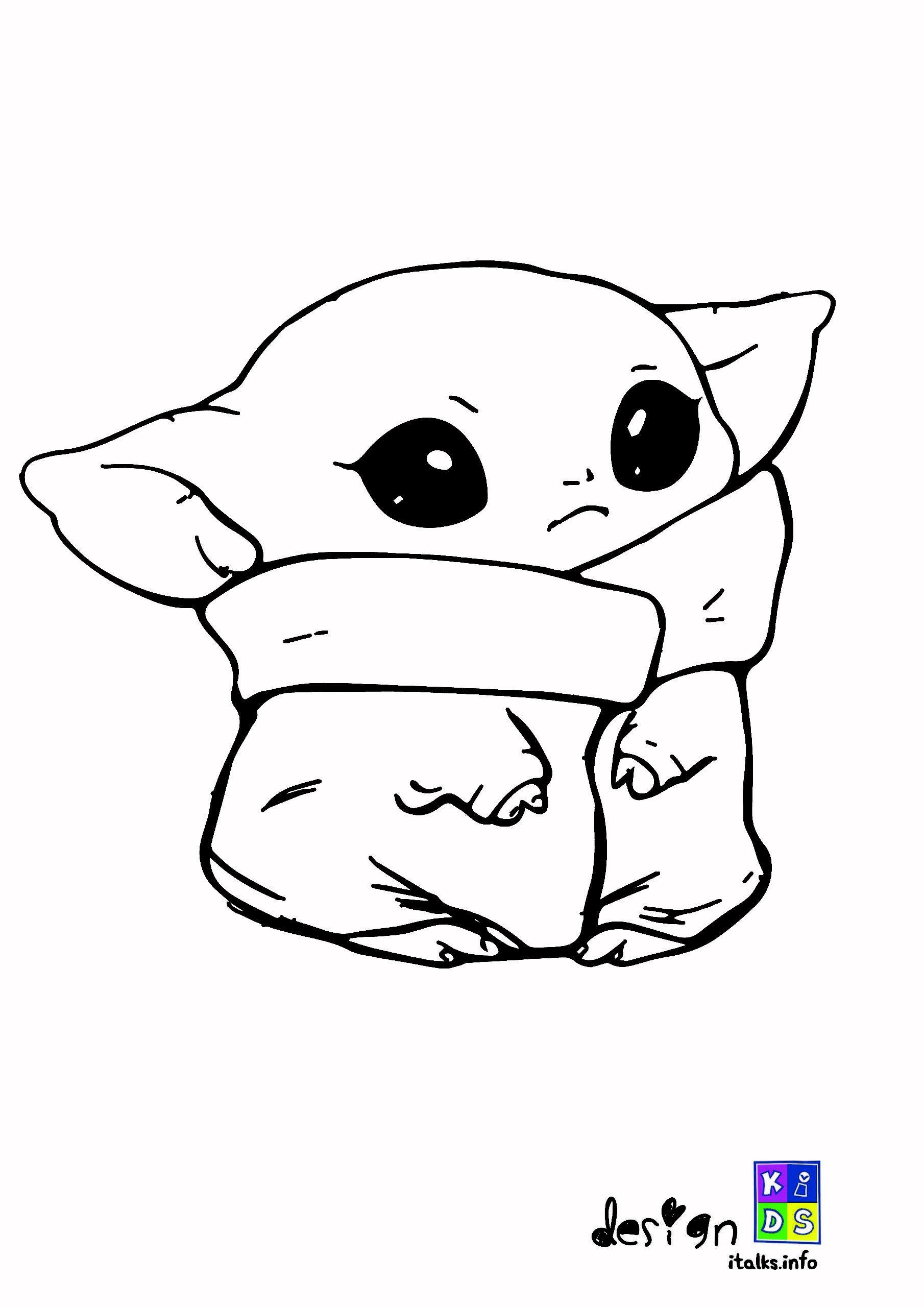 Baby Yoda Drawing In 2020 Yoda Drawing Drawing Wallpaper Coloring Books