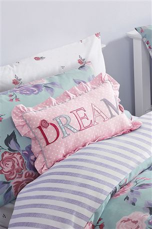 Buy Dream Appliqué Cushion from the Next UK online shop