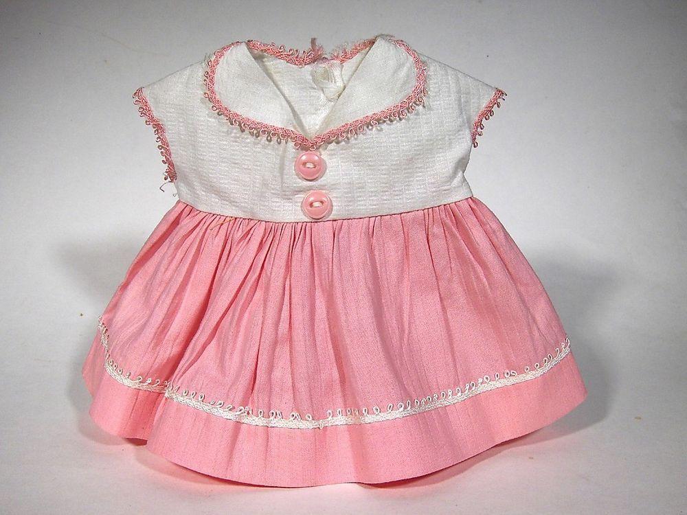 54e2dad4b5ab Vintage TINY TEARS ORIGINAL DRESS OUTFIT 1950s fits 12