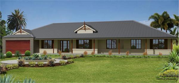 mcdonald jones home designs: bronte house collection - contemporary
