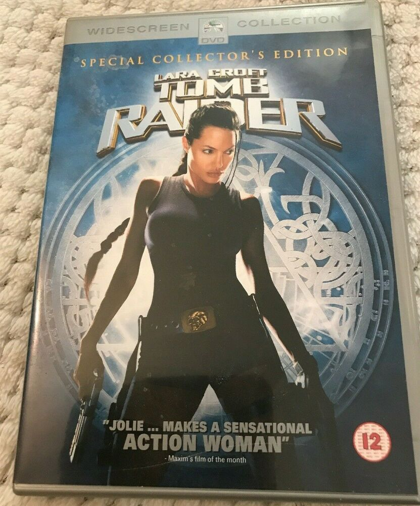 Only 1 59 Free Delivery Lara Croft Tomb Raider Dvd