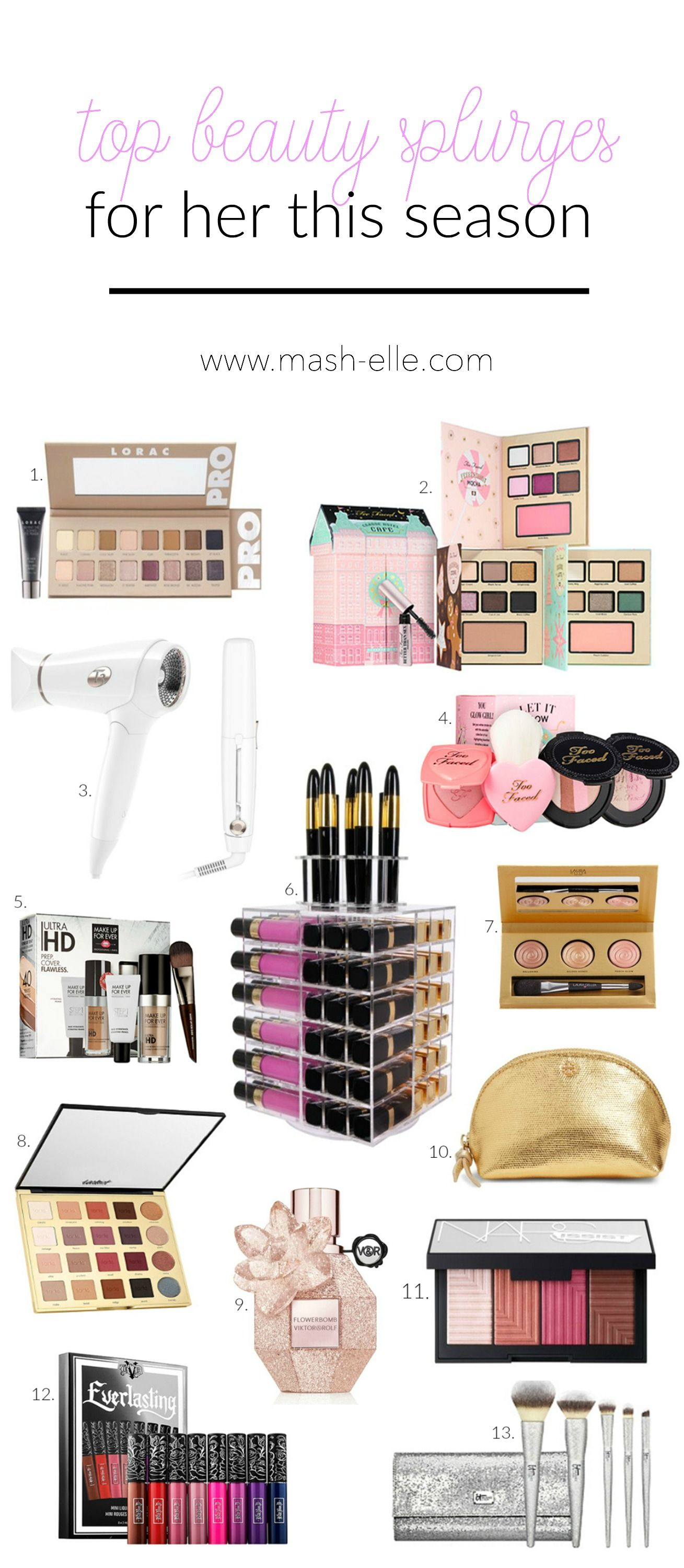 Christmas Gift Ideas for the Beauty Lover in Your Life   Mash Elle