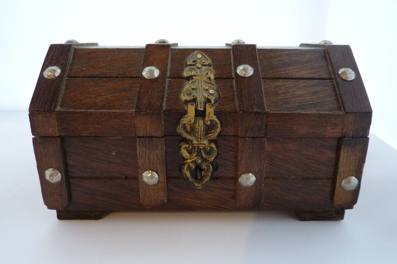 Mini Trunk Trinket Box Sweets Jewellery Treasure Chest Pirate Sweets Jewellery
