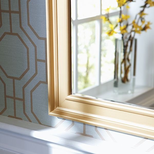 how to make a diy mirror frame with moulding - Mirror Frame Molding