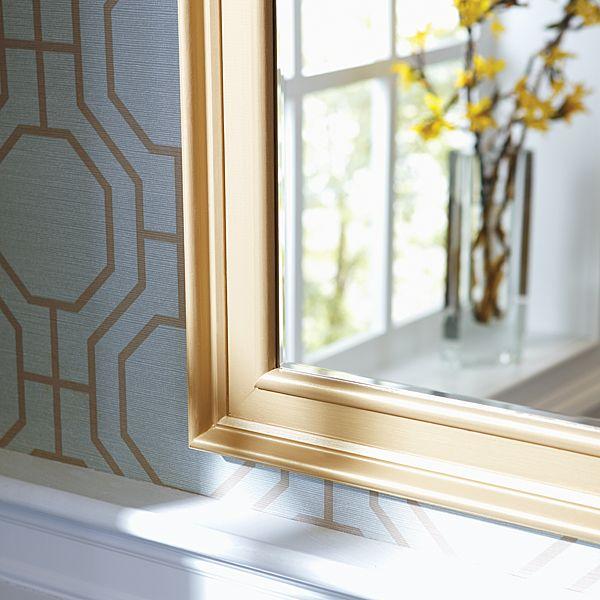 How to Make a DIY Mirror Frame with Moulding | Diy mirror, Bathroom ...