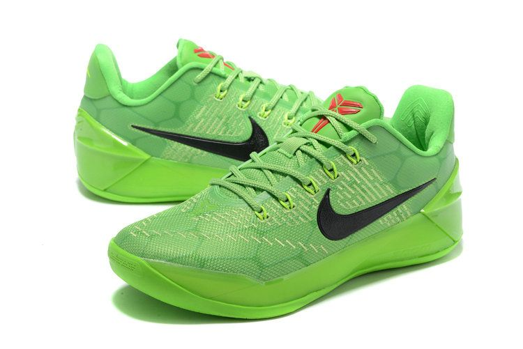competitive price a5866 cc8ea Discount Nike Kobe A.D. Grinch Christmas All Green