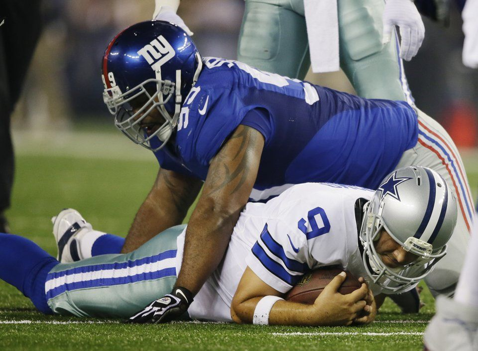 Cowboys get 6 TOs to beat Manning, Giants 3631 Cowboys