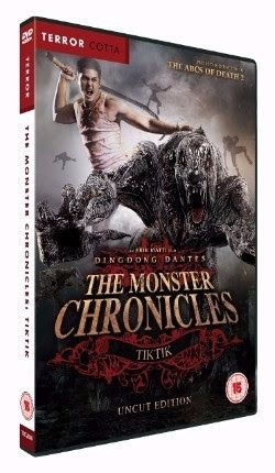 'The Monster Chronicles: Tiktik' on DVD March 28, 2016