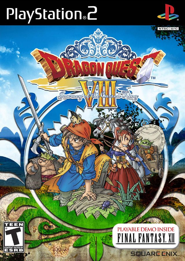 Dragon Quest Viii 8 Playstation 2 Game Video Game Collection