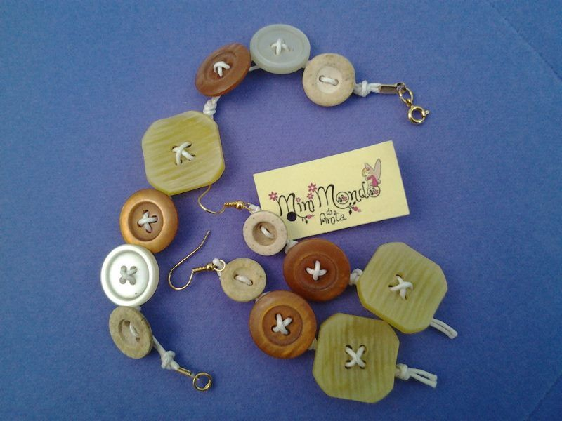 Mini Mondo di Anita - Bottoni