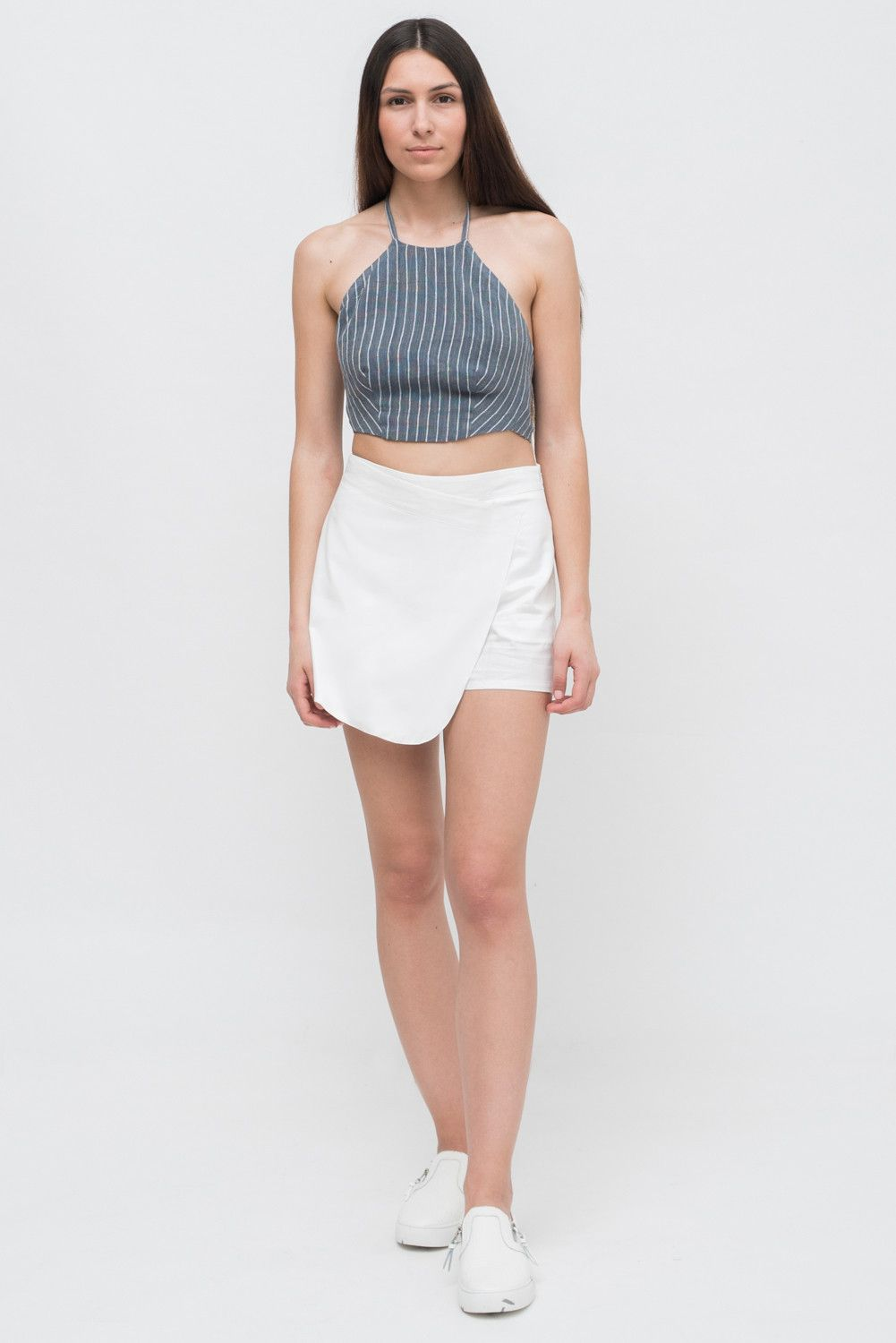WRAP CROP TOP from Ozon Boutique