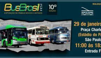 Evento que vai reunir ônibus antigos e novos foi remarcado para 29 de janeiro