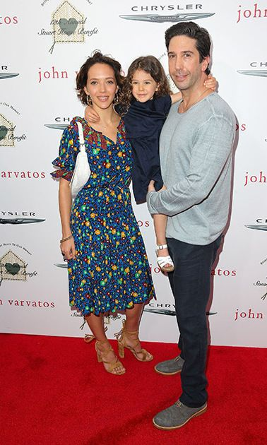 David Schwimmer Wife And Baby