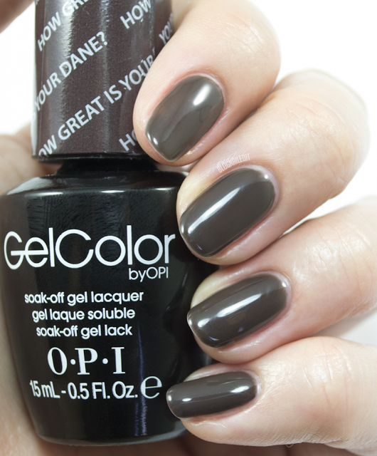 OPI GelColor Fall/Winter 2014 Nordic Collection - How Great is Your Dane?