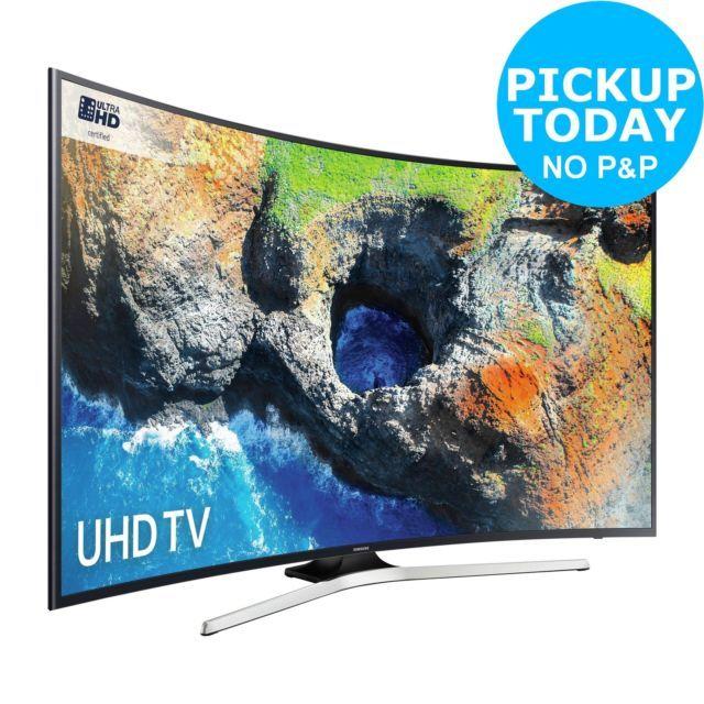 "Samsung UE49MU6200 49"" Smart 4k Ultra HD Curved LED TV"