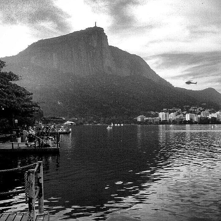 #rio #lagoon #brazil #redentor