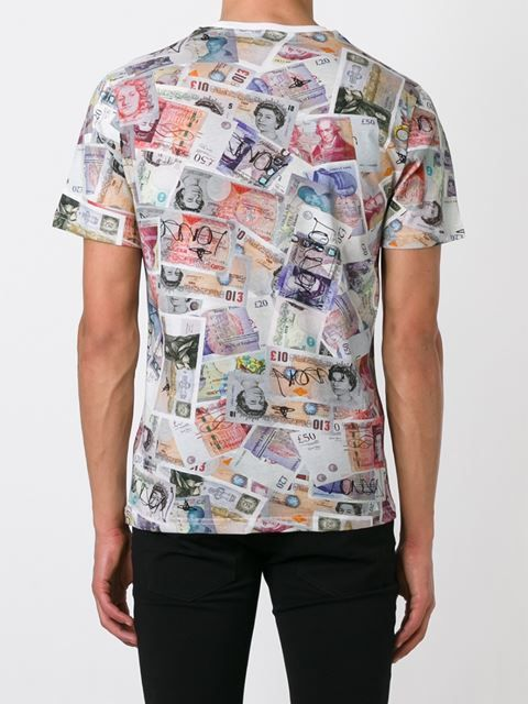 924dfdba If you like money, you'll love this currency printed graphic t-shirt.  Colorful and a good reference tool!