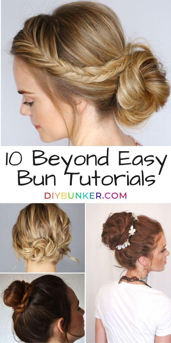 Easy Bun Hairstyles That Look Like They Took Effort