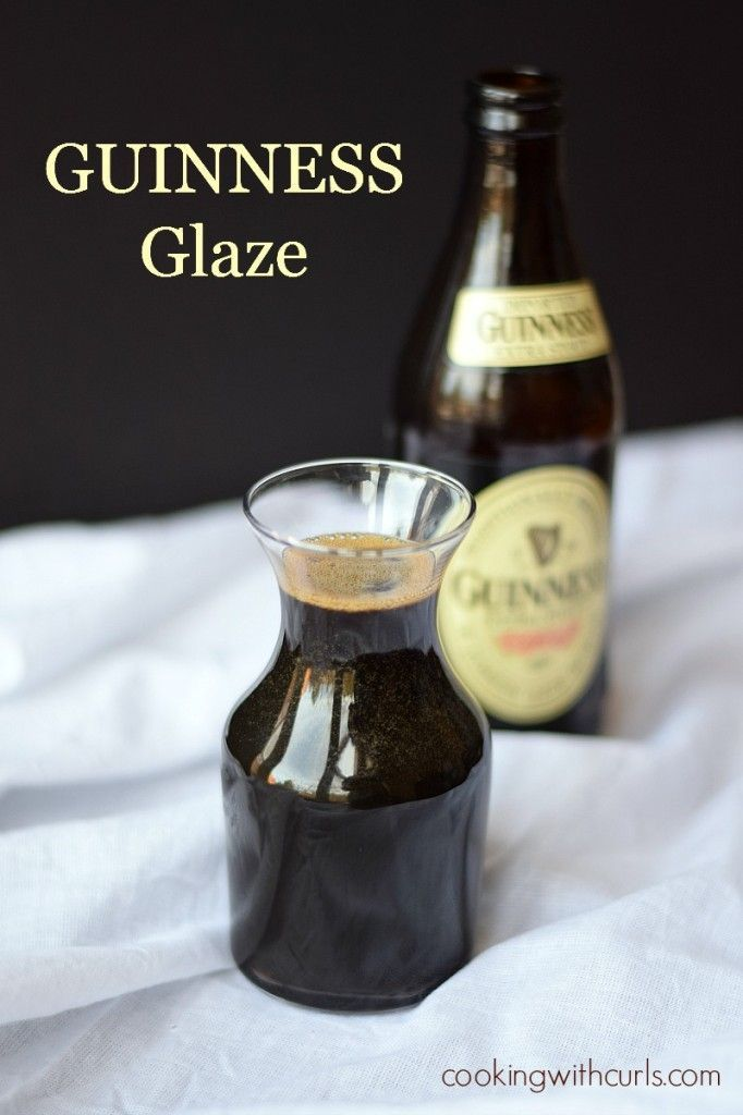 Glaze This sweet and tangy Guinness Glaze is perfect on burgers, salmon, shrimp, just about everything!This sweet and tangy Guinness Glaze is perfect on burgers, salmon, shrimp, just about everything!