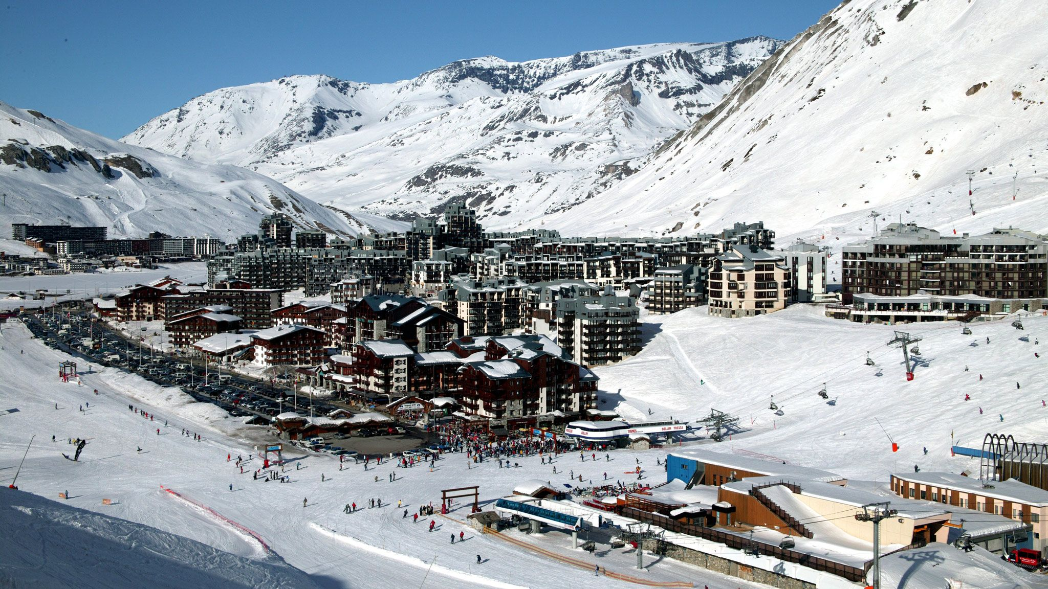 one of the largest ski areas in europe, tignes ski resort has earned