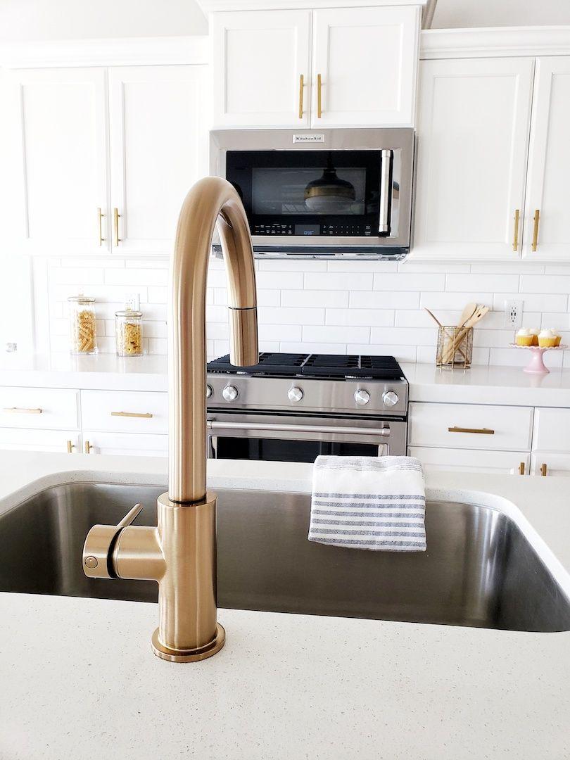 Kitchen Update Pendant Faucet Edition White Lane Decor