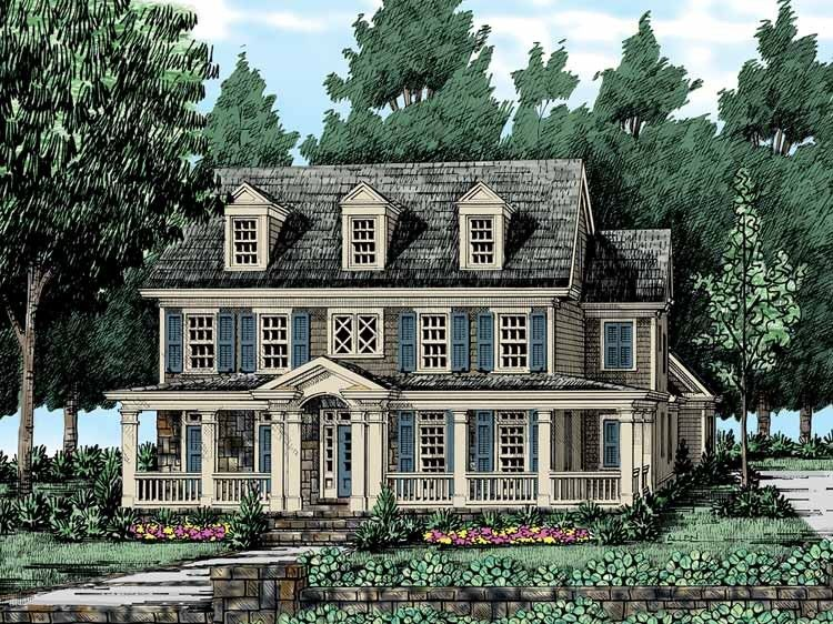Eplans farmhouse house plan a wealth of windows 2973 for Eplan house plans